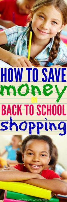 These tips for how to save money on back to school shopping are timeless. What's best is that you can do the majority of your shopping online and save more than just money, but your sanity as well!
