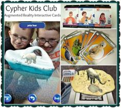 Cypher Kids Club Augmented Reality interactive Cards educational and fun all in one! #CypherKidsClub #cbias