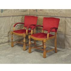 Solid pair of bridge chairs from Hoarde member Saxongate
