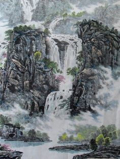 Ink Wash Painting - Bing Images