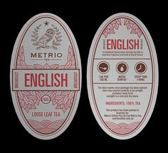 Metrio Tea by Robinsson Cravents, via Behance