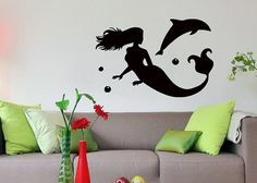 Hey, I found this really awesome Etsy listing at https://www.etsy.com/listing/171790654/wall-decals-mermaid-bathroom-decal-vinyl