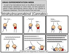 """Have you ever read Cyanide and Happiness...ON WEED? Oh man that's the way to see it! It's like POW!"" Jon Stewart"