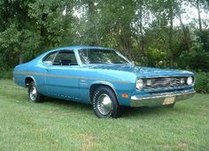 1970 plymouth duster turquoise exterior - Google Search