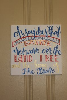 4th of July Decor by InkandPenShop on Etsy