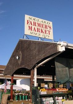 Soulard Farmers Market...this will be the first summer I won't be able to walk here since 1999:-(
