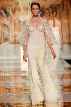 Bahamas • wedding dress YolanCris 2014 Ethereal Evanescence new bridal collection  Barcelona Bridal Week #brides #wedding #dress #white #ethereal #evanescence #yolancris #2014 #trends #Barcelona #bridal #gowns #couture #black