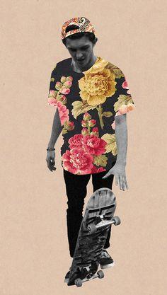 Guy Catling | Skateboarder | Collage