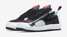 The Acronym x Nike Lunar Force 1 Zip SP is set to release in three colorways on 17th.