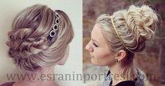 4 saç bantlı topuz saç modelleri_mini