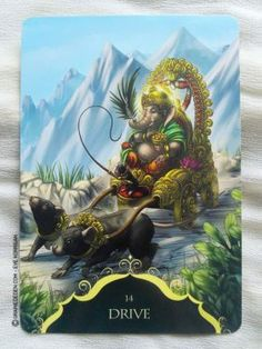 Whispers of Lord Ganesha Oracle cards de Angela Hartfield - Graine d'Eden…