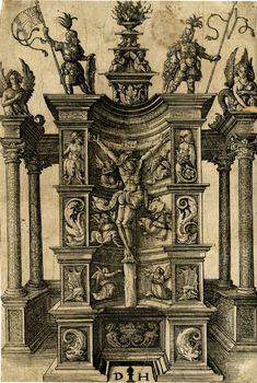 Daniel Hopfer (1470 - 1536). Гравюры - Орнамент и стиль в ДПИ