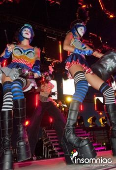 Electric Daisy Carnival - Las Vegas #location #performance #clown