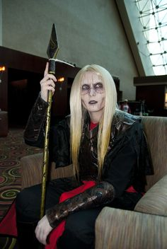 There's a disproportionately high number of women cosplaying as Prince Nuada. I could totally do that. Zombie Makeup, Guys Be Like, Larp, Body, Punk, Cosplay, Pretty, Weapons, Weird
