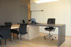 Zeker op een later leeftijd is het best dat je een bureau laat plaatsen, waar je dan alles voor het school kan doen.