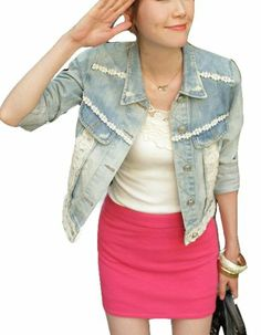 Sweet Denim Jacket Sleeved Jacket Vangood,http://www.amazon.com/dp/B00HIJNKL2/ref=cm_sw_r_pi_dp_4lqatb1N41PMXCAY
