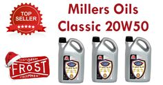 Top Seller: Millers Oils Classic 20W50 is a mineral based engine oil for Classic engines from 1950-1970s. Buy Now: http://www.frost.co.uk/millers-oils-classic-20w50-5-litres.html