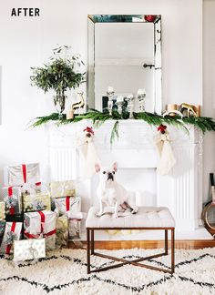 Love @jennybernheim's holiday color palette! Click through for more.