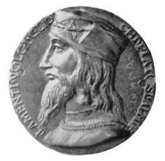 Medal depicting Cesare Borgia (1475-1507)
