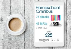 This year's homeschool omnibus contains over 100 resources for homeschooling families.