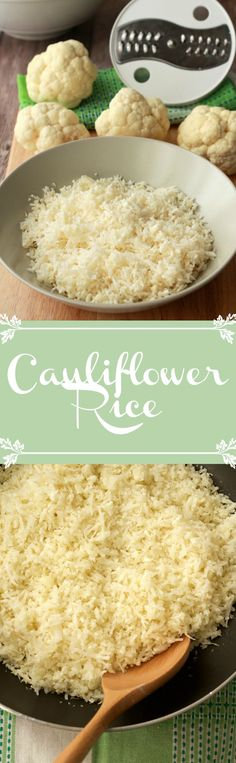 How to make cauliflower rice #vegan #lovingitvegan #glutenfree #howto