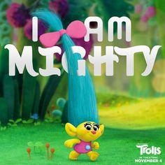 I am mighty! #trolls #dreamworks www.charmingsusie.origamiowl.com