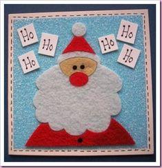Tarted up fluffy felt cards by Helen