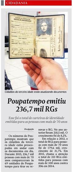 Jornal da Cidade de Rio Claro (31/03/2016)