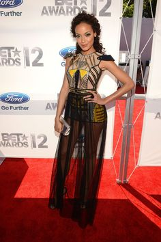 Selita Ebanks @ the BET Awards 2012