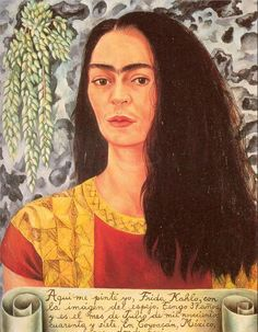 Frida Kahlo(1907 1954)