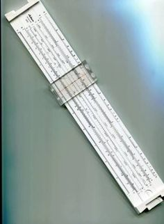 I used one of these in high school - slide rule