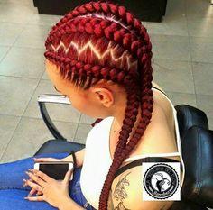 Red braids Más
