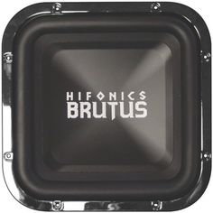 """Hifonics Brutus BRZ12SQD4 Square 12"""" Woofer DVC 4 Ohm by Hifonics. $82.42. Brutus subwoofers have earned a reputation in the industry for producing some of the most efficient and loudest subwoofers in their class. The """"BRZ"""" subwoofer series makes no exception featuring three models that are designed to deliver accurate bass reproduction through a wide range of frequencies with impressive power handling capabilities. Hifonics innovative dual spider spacing technolog..."""