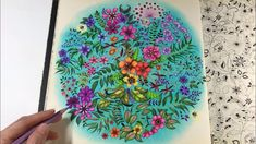 Chris Cheng, Johanna Basford Secret Garden, Secret Garden Coloring Book, Johanna Basford Coloring Book, Colored Pencil Techniques, Coloring Books, Colouring Pencils, My Secret Garden, Make Color