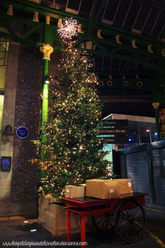 rustic christmas tree at bourough market rustic christmas treeschristmas decorationslondon - London Christmas Decorations