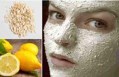 Olvídate del láser para aclarar tu piel con esta beneficiosa combinación en esta mascarilla de avena y limón podrás ver los resultados en tan solo 7 días! Hay muchos factores que pueden causar la aparición de manchas en la piel, especialmente en el rostro , provocando que el tono de la piel s