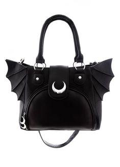 RESTYLE Moon Bat Elegant Goth Bag