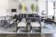 Living Room in New York, NY by Drake/Anderson