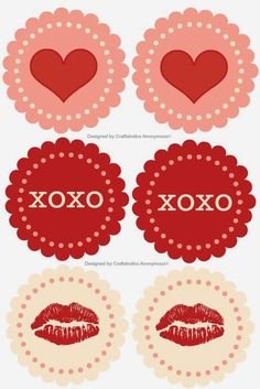 DIY Planner & co.: Tags San Valentino #1