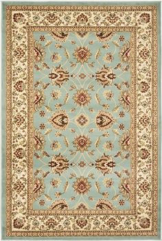 cool Safavieh LNH553-6512-3 3 ft. 3 in. x 5 ft. 3 in. Small Rectangle Lyndhurst Blue & Ivory Traditional Rug