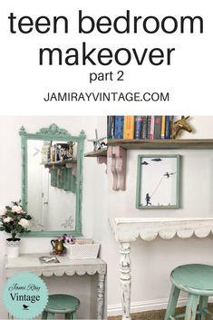 Teen Bedroom Makeover   YouTube Video   Part 2