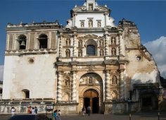 iglesia de san francisco mayor antigua guatemala -