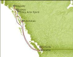 2012 Alaska cruise option