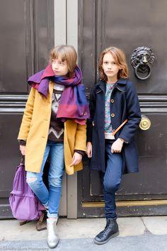 Look de rue à Paris - Milk - Ganaëlle Plume - Thémis et Colette. | Kids Street Style Fashion