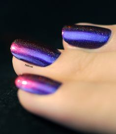 Cool purple and pink combination