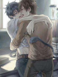 Anime Yaoi pairings - Rin x Yukio{Lemon} [Ao no Exorcist] - Page 1 ...