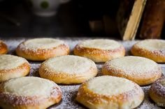 Old school pastry with curd cheese