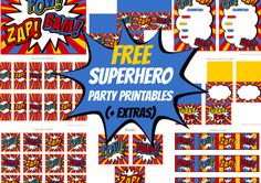 Free Superhero Party
