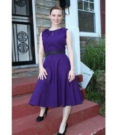 DIANA vintage look pencil dress custom made all size. $92.00, via Etsy.