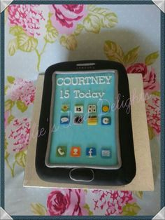 Samsung Mobile Phone cake